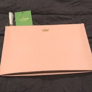 Kate Spade large women's clutch purse